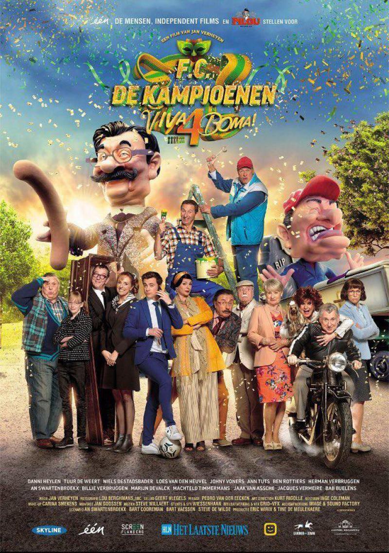 Poster F.C. De Kampioenen 4: Viva Boma!