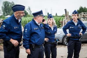 Ianthe Tavernier, Willy Herremans, Dorien Reynaert in De Buurtpolitie: De Tunnel (2018)