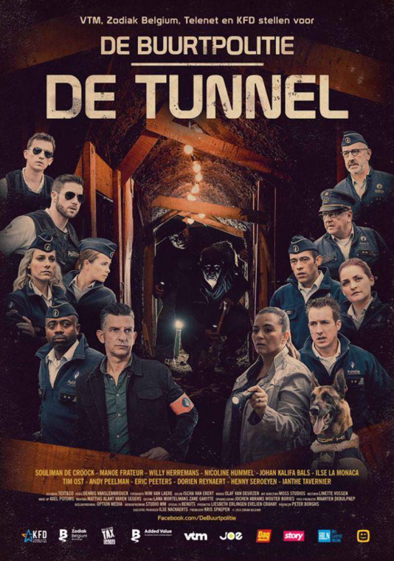 Poster De Buurtpolitie: De Tunnel