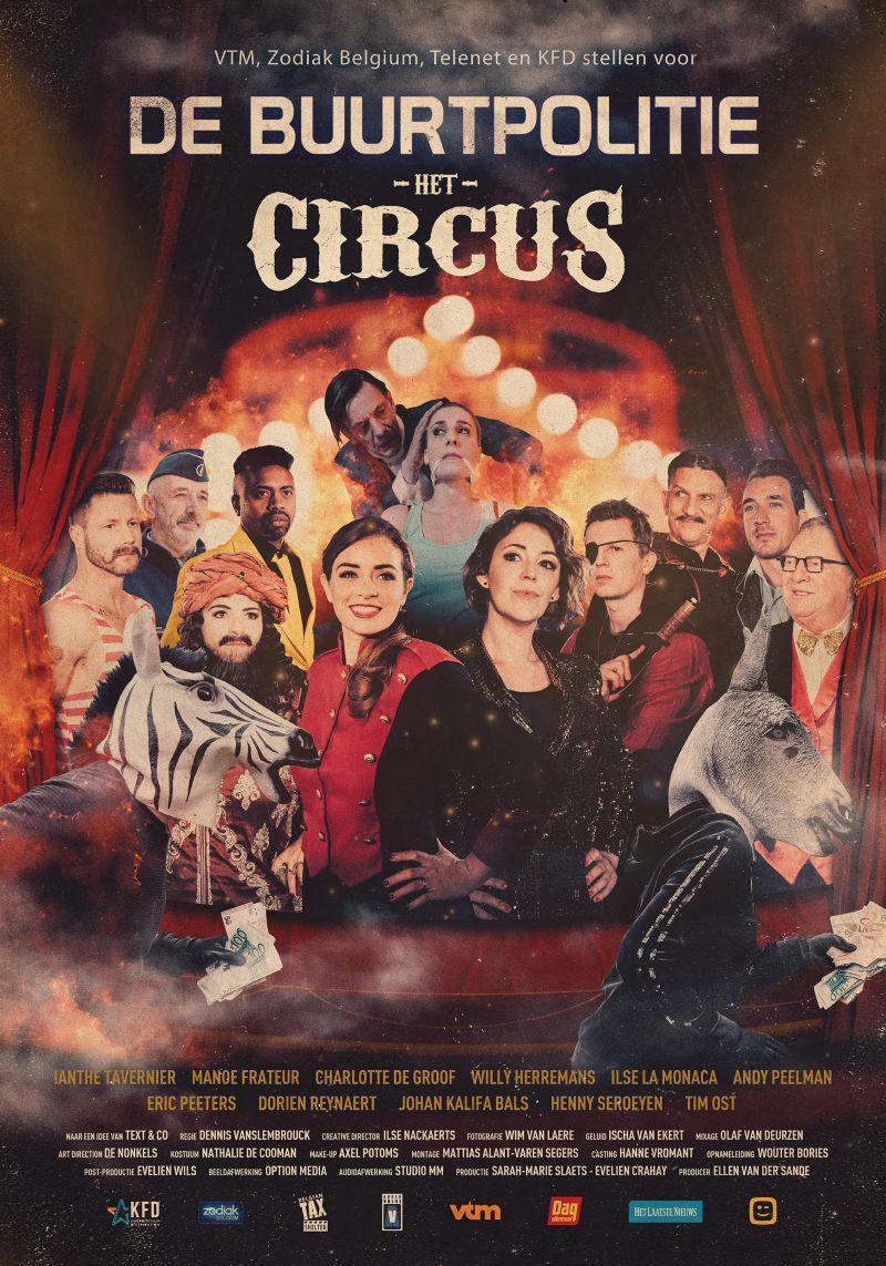 Poster De Buurtpolitie: Het Circus