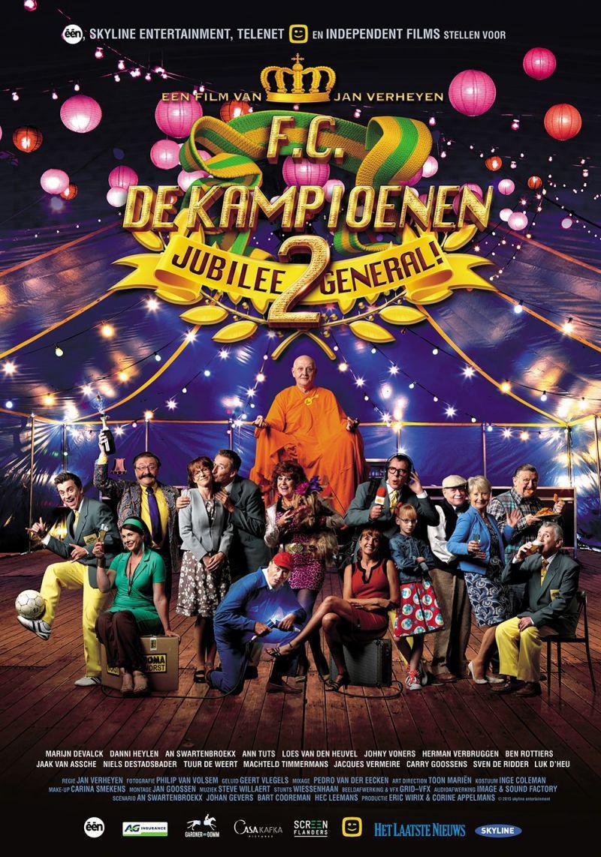 Poster F.C. De Kampioenen 2: Jubilee General!
