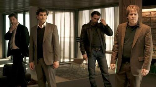 Koen De Graeve, Koen De Bouw, Matthias Schoenaerts, Bruno Vanden Broecke in Loft (2008)