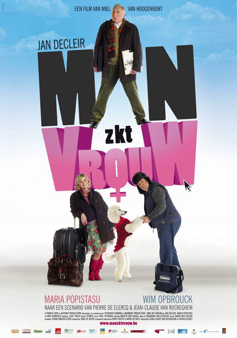 Poster Man zkt vrouw