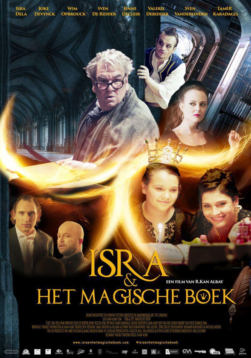 Poster Isra en het Magische Boek