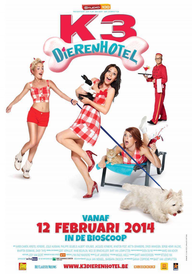 Poster K3 Dierenhotel