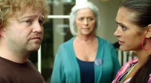 Sven De Ridder, Anke Frederick, Nicole Laurent in Bingo (2013)