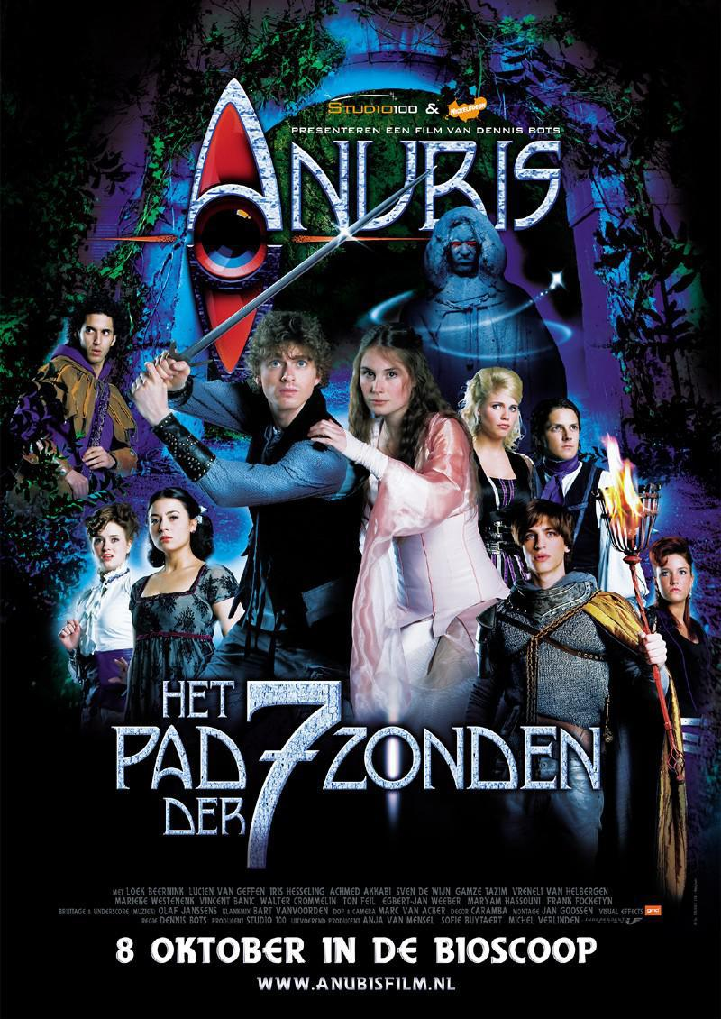 Poster Anubis en het pad der 7 zonden