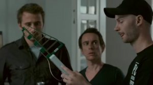 Matthias Schoenaerts, Nico Sturm, Jeff Otte in Pulsar (2010)