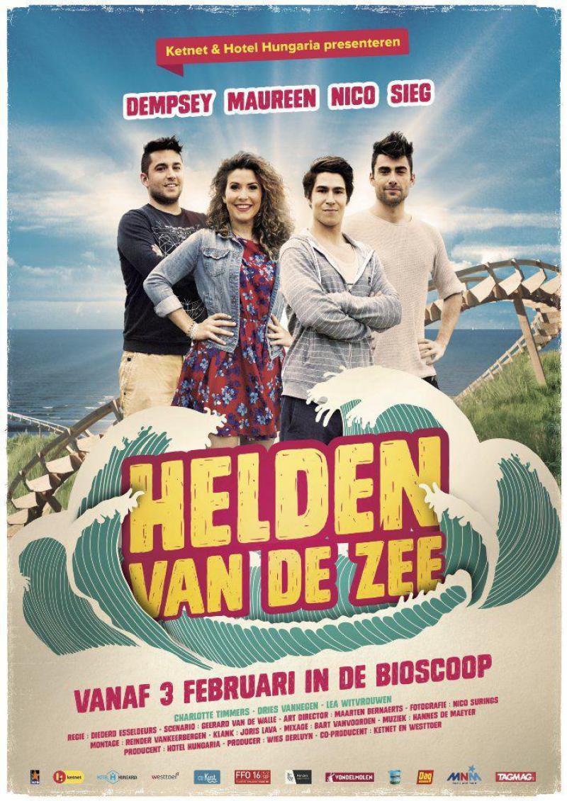 Poster Helden van de zee