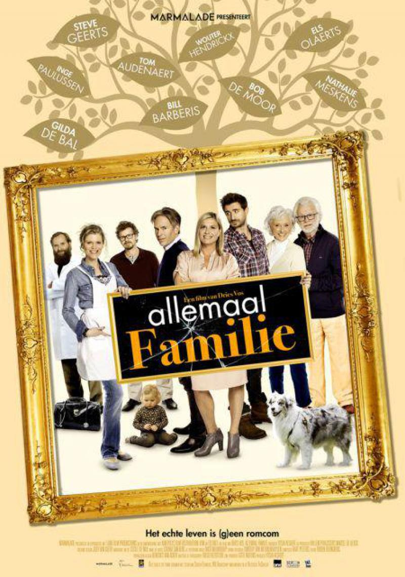 Poster Allemaal familie