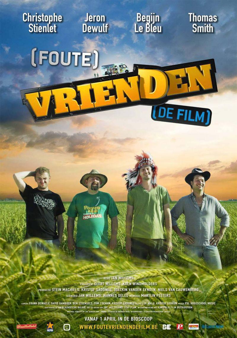 Poster Foute vrienden de Film