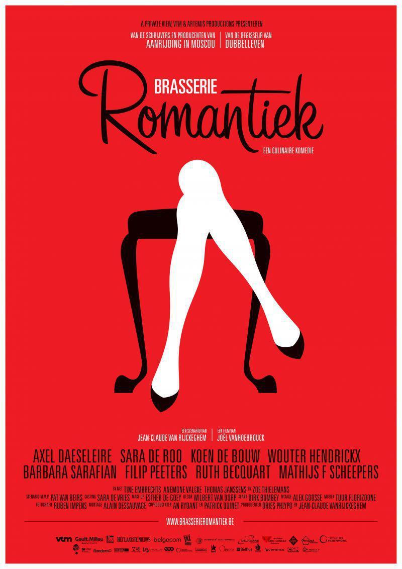 Poster Brasserie Romantiek