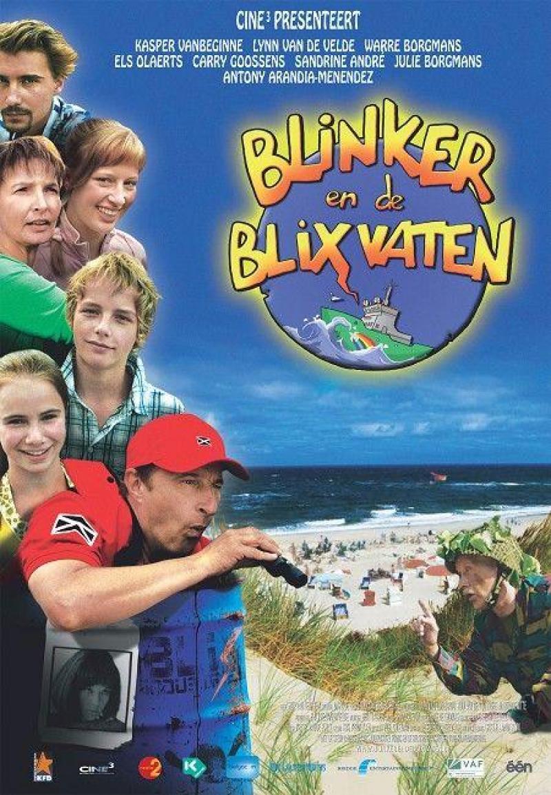 Poster Blinker en de blixvaten