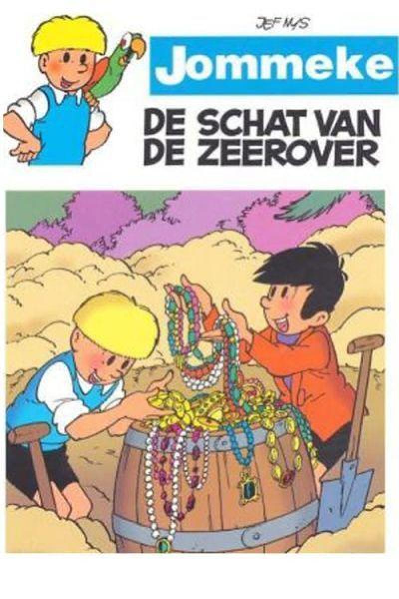 Poster De schat van de zeerover