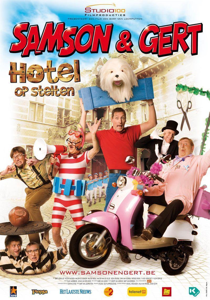 Poster Hotel op Stelten