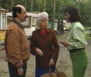Dirk Bosschaert, Annie Geeraerts, Annemie Gils in Kiekeboe : Het witte bloed (1992)