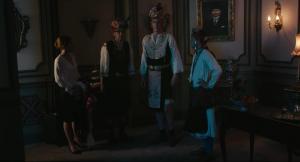 Titus De Voogdt, Bruno Georis, Lucie Debay, Peter Van Den Begin in King of the Belgians (2016)