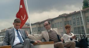 Peter Van Den Begin, Bruno Georis, Lucie Debay in King of the Belgians (2016)