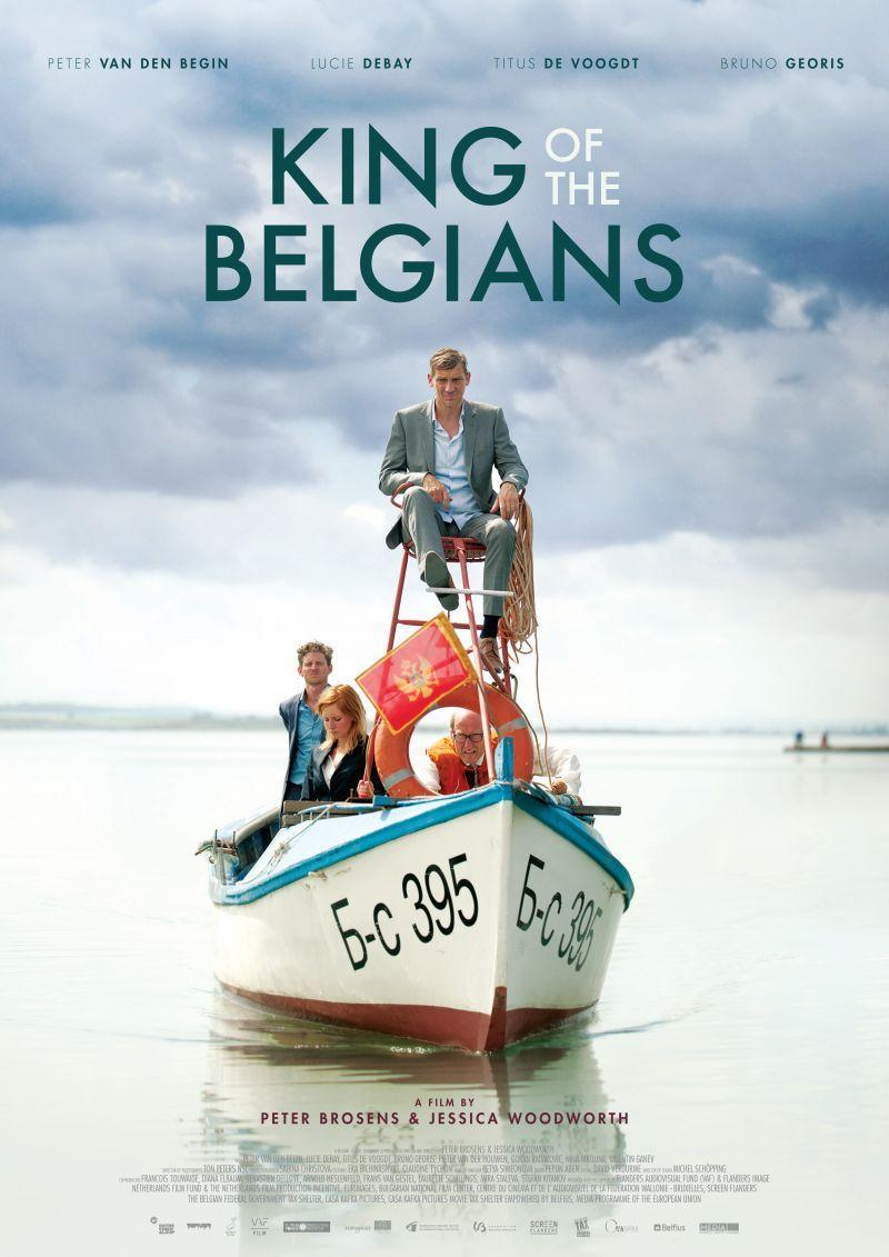 Poster King of the Belgians