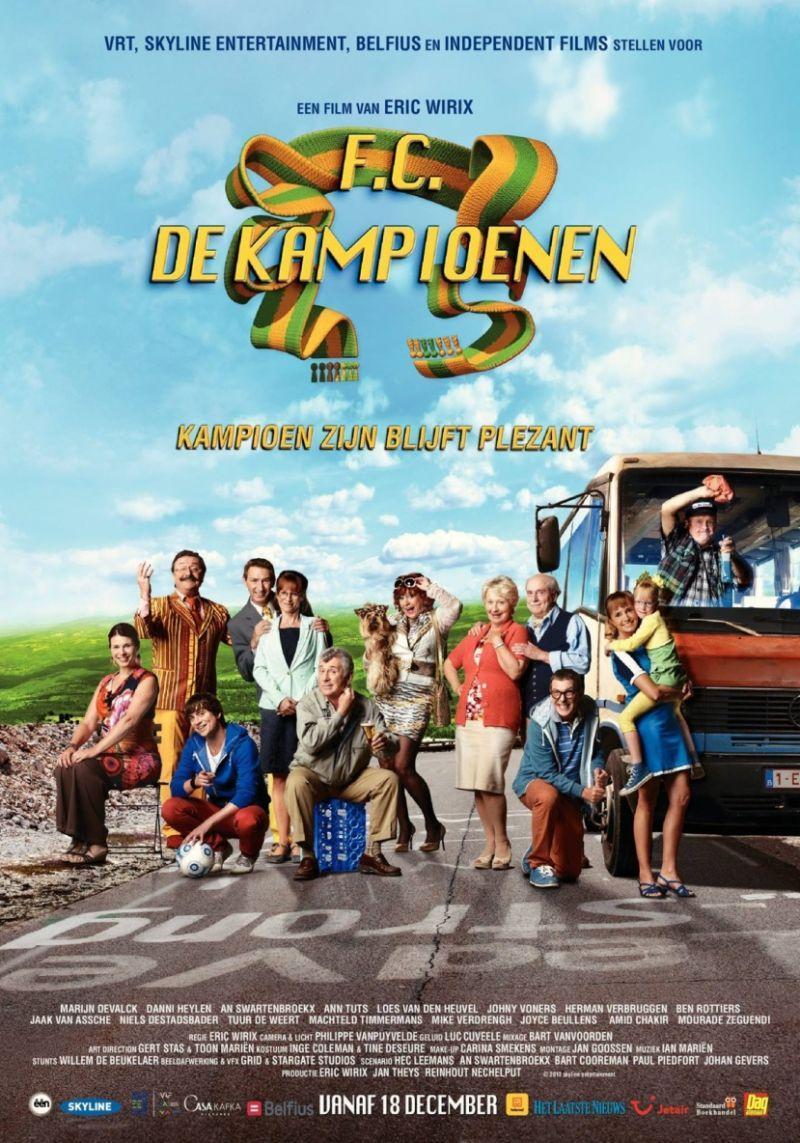 Poster F.C. De Kampioenen: Kampioen zijn blijft plezant