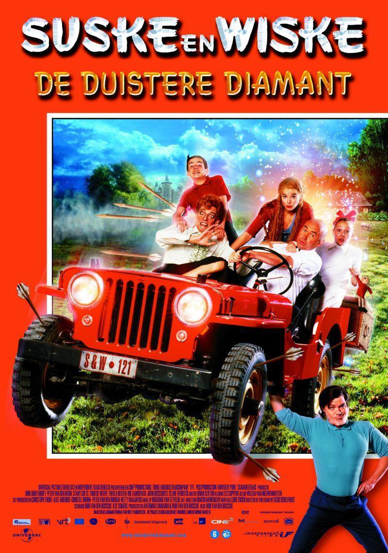 Poster Suske en Wiske: De duistere diamant