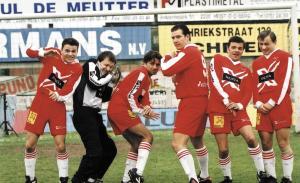 Tom Van Landuyt, Mathias Sercu, Michaël Pas, Axel Daeseleire, Geert Hunaerts, Dimitri Leue in Team Spirit (2000)