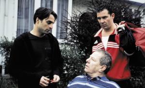 Michaël Pas, Arnold Willems, Axel Daeseleire in Team Spirit (2000)