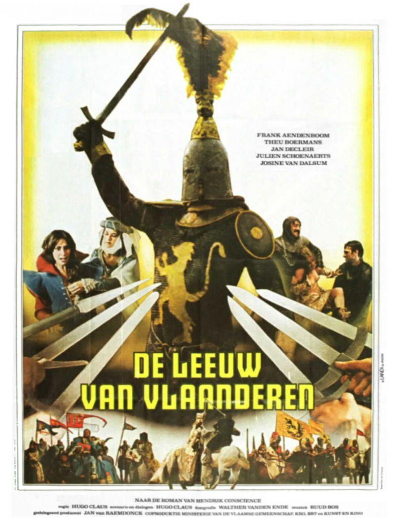 Poster De Leeuw van Vlaanderen