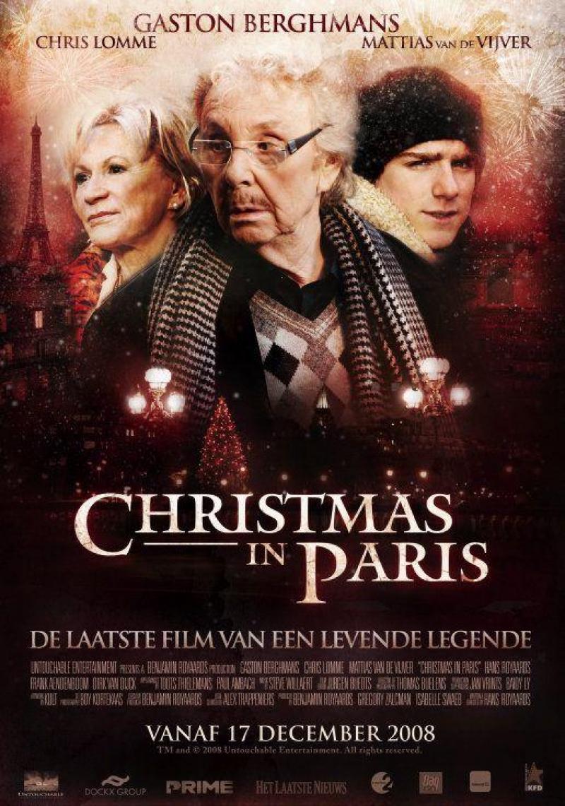 Poster Christmas in Paris