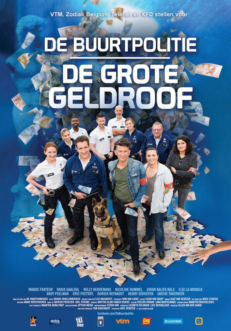 Poster De Buurtpolitie: De Grote Geldroof