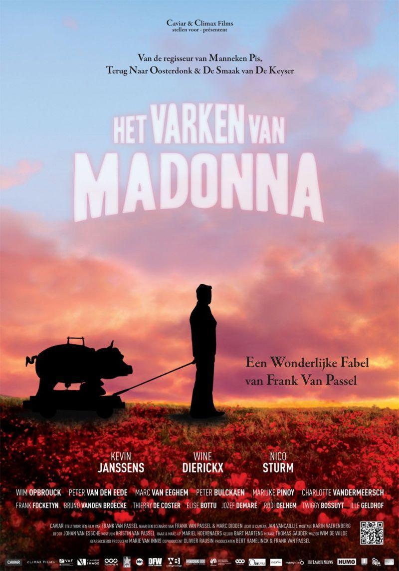 Poster Het varken van Madonna