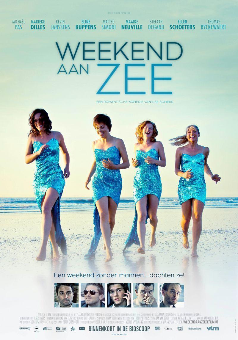 Poster Weekend aan zee