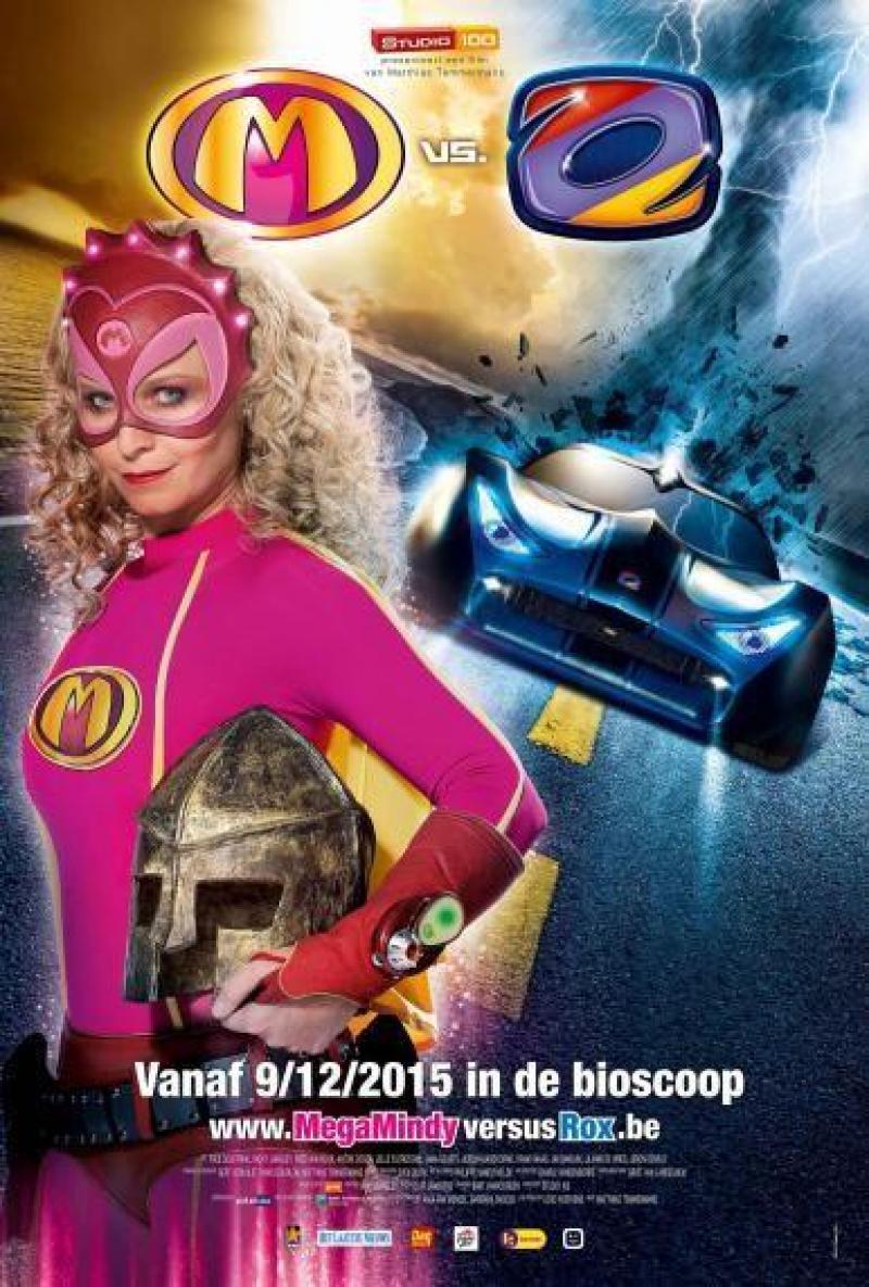 Poster Mega Mindy versus Rox