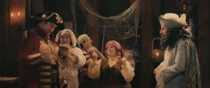 Peter Van De Velde, Dirk Bosschaert, Dirk Van Vooren, Anke Helsen, Henny Huisman in Piet Piraat en het Zeemonster (2013)