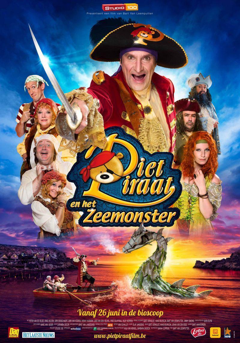 Poster Piet Piraat en het Zeemonster