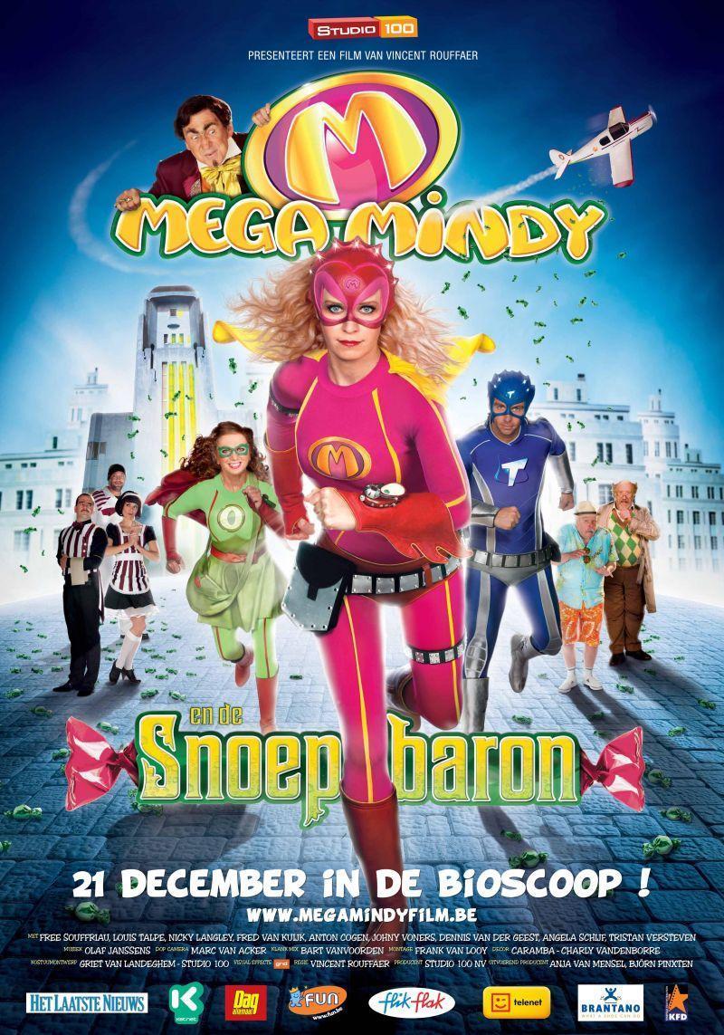 Poster Mega Mindy en de Snoepbaron