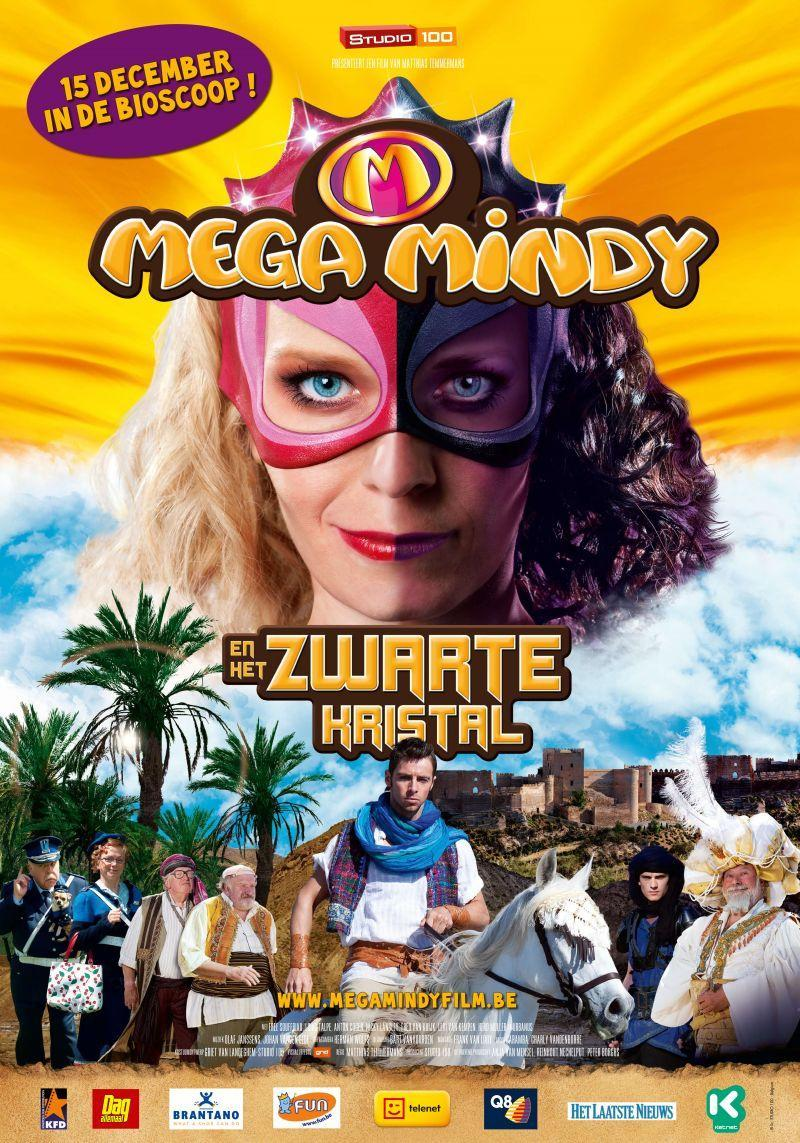 Poster Mega Mindy en het Zwarte Kristal