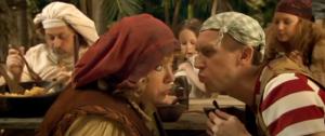Dirk Bosschaert, Anke Helsen, Dirk Van Vooren in Piet Piraat en het zwaard van Zilvertand (2008)