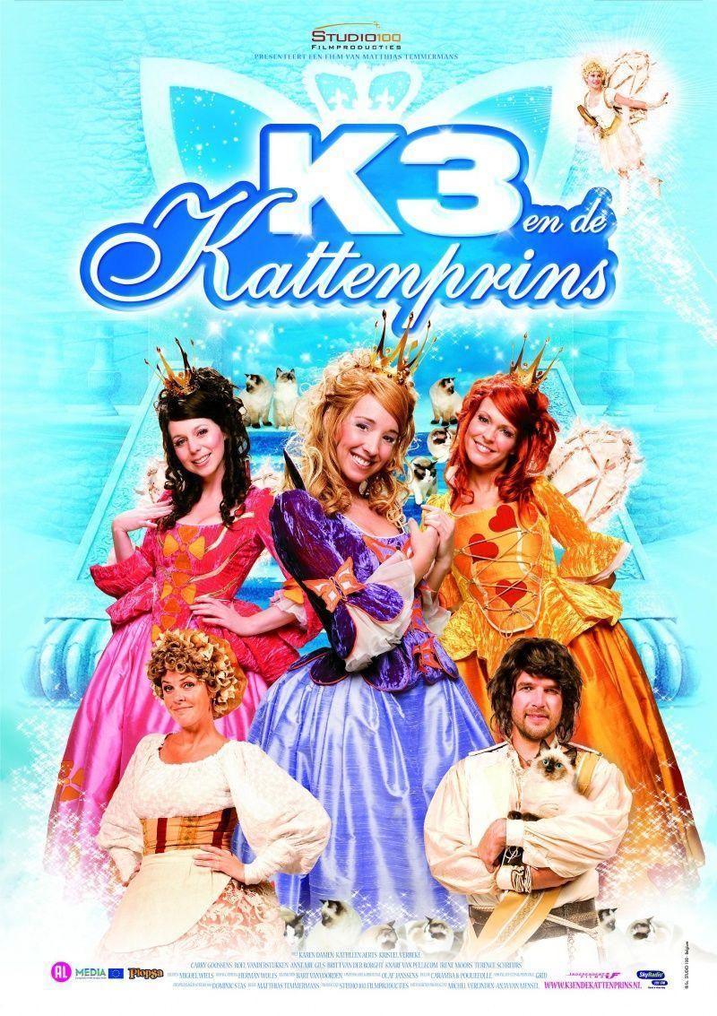 Poster K3 en de Kattenprins