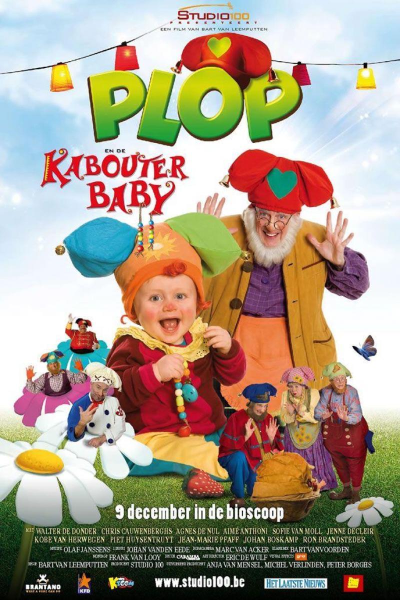 Poster Plop en de kabouterbaby