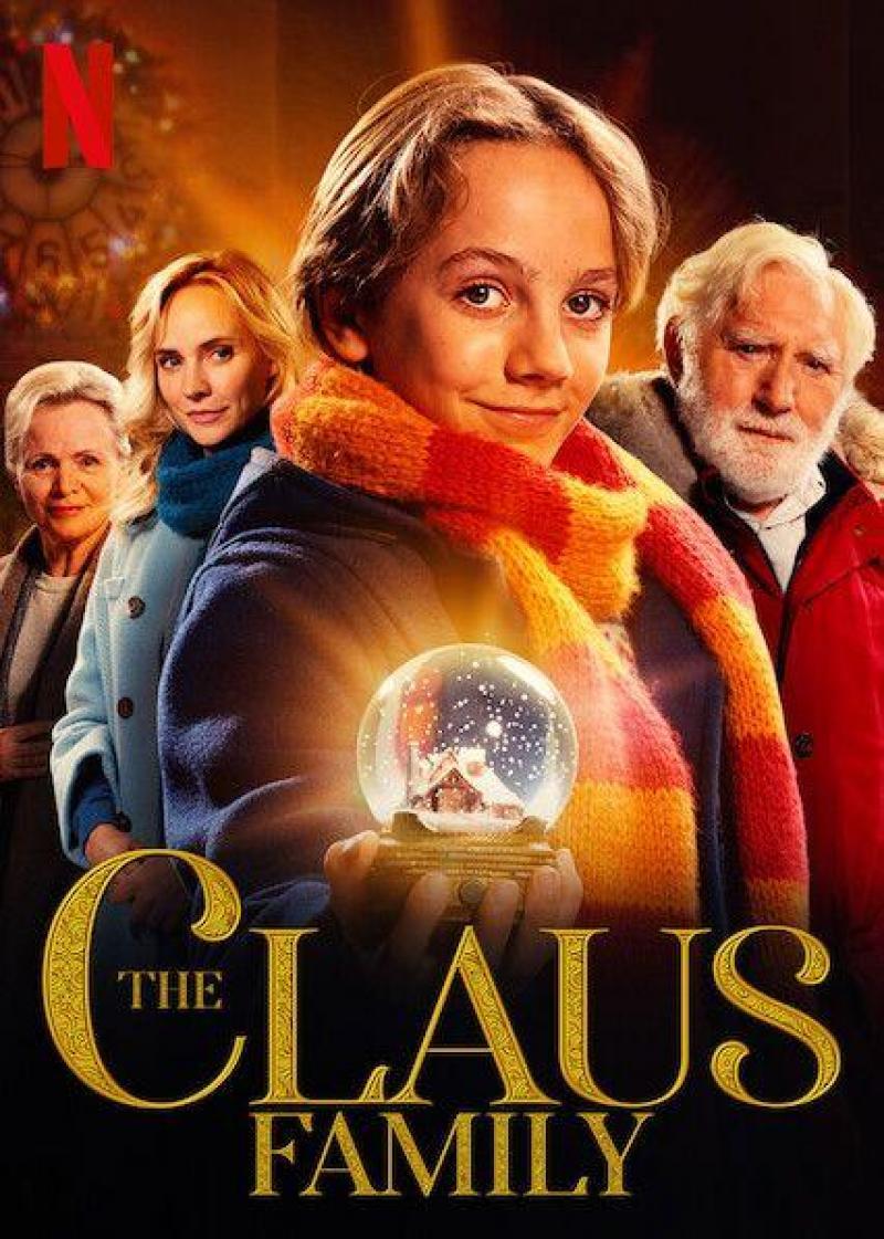 Poster De familie Claus
