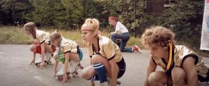 Charlotte De Wulf, Chloë Daxhelet, Zinya Van Reeth, Robbe Langeraert, Ezra Fieremans in Café Derby (2015)
