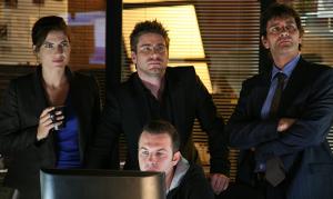 Joke Devynck, Kevin Janssens, Koen De Bouw, Stan Van Samang in Vermist (2007)