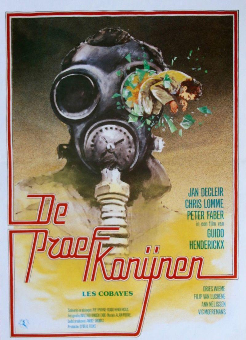 Poster De proefkonijnen