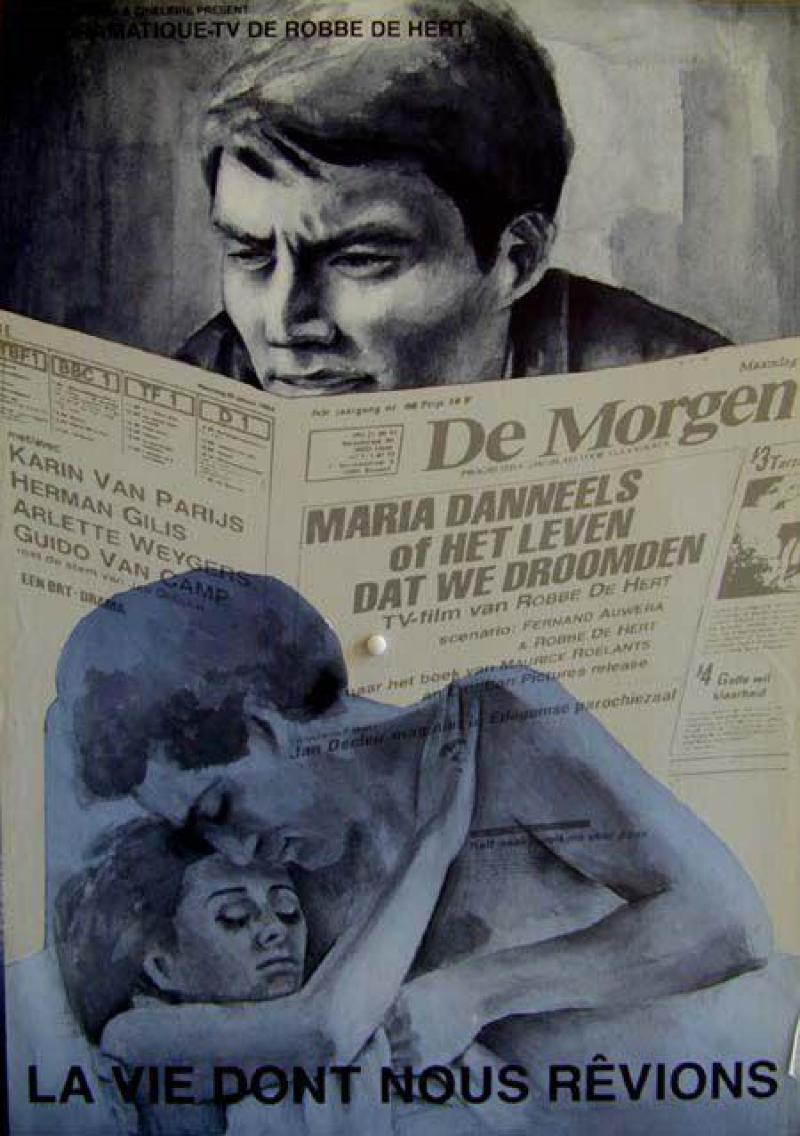 Poster Maria Danneels (of het leven dat we droomden)