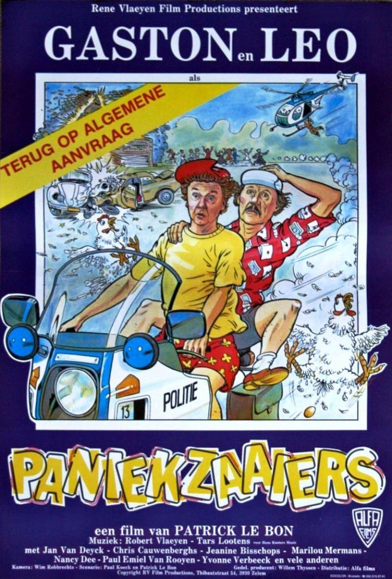 Poster Paniekzaaiers