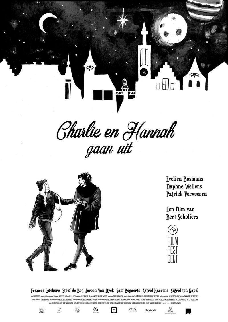 Poster Charlie en Hannah gaan uit