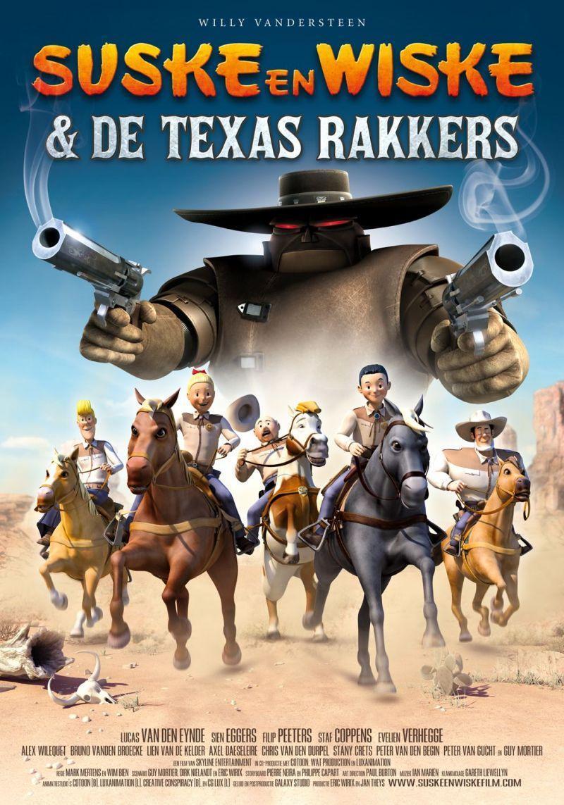 Poster Suske en Wiske & De Texas rakkers