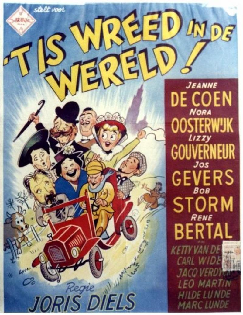 Poster 't Is wreed in de wereld