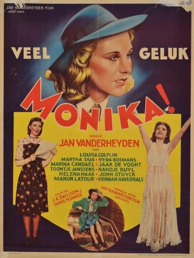 Poster Veel geluk, Monika